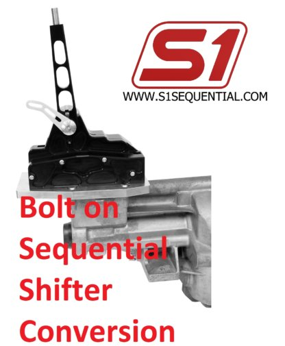 bolt on sequential gearbox conversion
